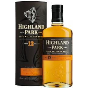 Highland Park 12 Jahre Single Malt Whisky