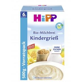 Hipp Bio-Milchbrei Kindergrieß ab dem 6. Monat