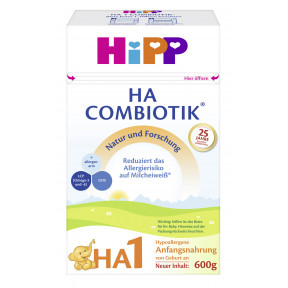 Hipp HA 1 Combiotik von Geburt an 600G