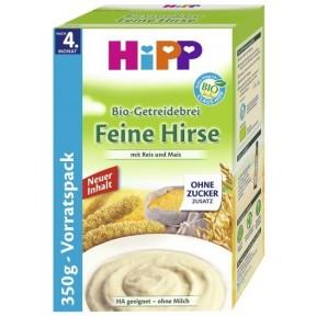 Hipp Bio Getreidebrei feine Hirse mit Reis und Mais