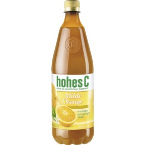 Hohes C Milder Orangensaft PET 1 ltr