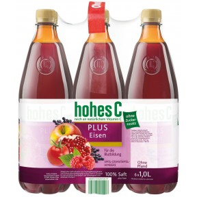 Hohes C Plus Eisen 6x 1 ltr PET