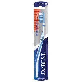 Dr.BEST Zahnbürste Interdent Aktiv mittel verschiedene Farben