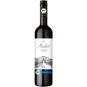 Biowein Merlot Terre Siciliane IGP Rotwein 2017