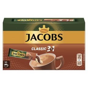 Jacobs Classic 3in1 Sticks 10x 18 g