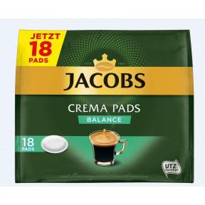 Jacobs Kaffeepads Crema Balance 18ST 118G