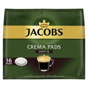 Jacobs Crema Pads kräftig 16x 6,56 g