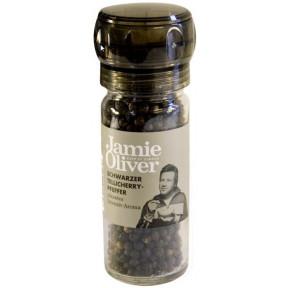 Jamie Oliver Schwarzer Tellicherry-Pfeffer Mühle klein 50g