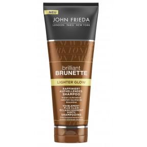 John Frieda Brilliant Brunette Lighter Glow raffiniert aufhellendes Shampoo