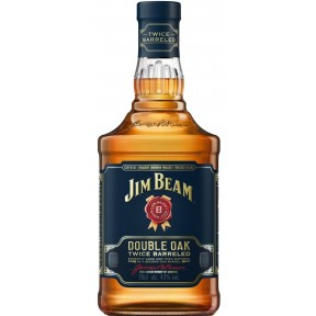 Jim Beam Double Oak Twice Barreled Bourbon 0,7 ltr