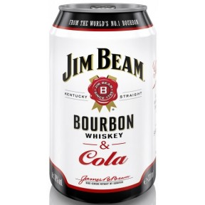 Jim Beam Bourbon & Cola Dose