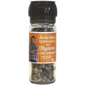 Jamie Oliver Zitrussalz Gewürzmühle klein 70 g