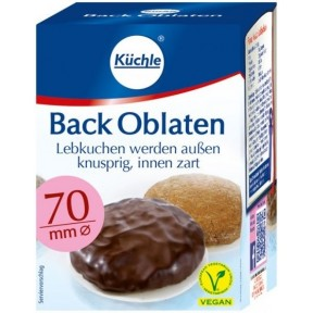 Küchle Back Oblaten 70mm 71 g