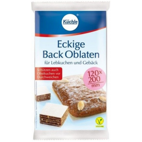 Küchle Eckige Back Oblaten