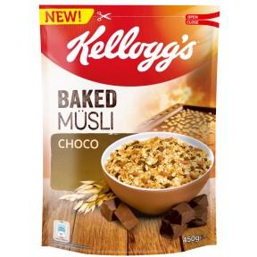Kelloggs Baked Müsli Choco