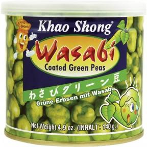 Khao Shong Erbsen mit Wasabi 140 g