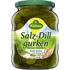 Kühne Salz-Dill Gurken 650 g