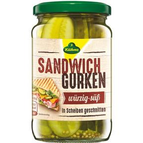 Kühne Sandwich Gurken 330 g