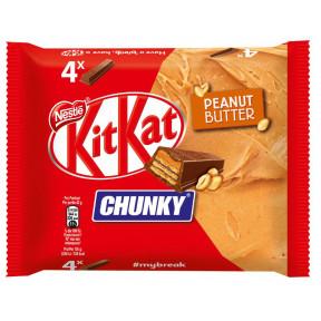 KitKat Chunky Peanut Butter 4ST 168G
