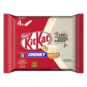 Kitkat Chunky White 4ST 160G