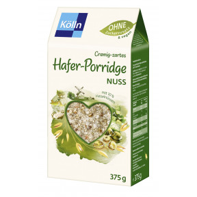 Kölln Cremig-zartes Hafer-Porridge Nuss 375G