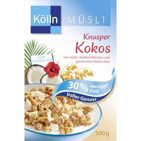 Kölln Müsli Knusper Kokos 500 g