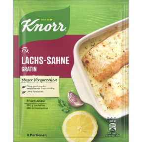 Knorr Fix für Lachs-Sahne Gratin 28 g