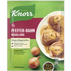 Knorr Fix für Pfeffer-Rahm-Medaillons 35 g