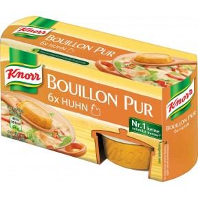 Knorr Bouillon Pur Huhn 6x 28 g