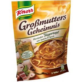 Knorr Großmutters Geheimnis Herzhafter Jägertopf