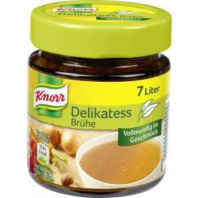 Knorr Delikatess Brühe im Glas
