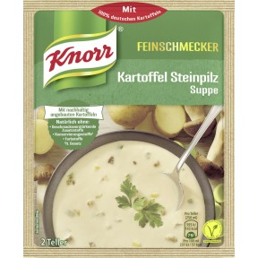 Knorr Feinschmecker Kartoffel Steinpilz Suppe 58 g