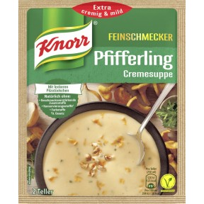 Knorr Feinschmecker Pfifferling Cremesuppe 56 g