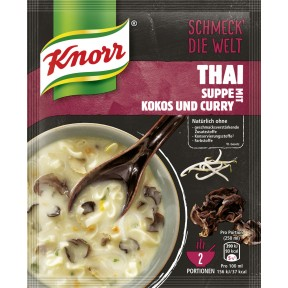 Knorr Feinschmecker Suppe Thai Kokos & Curry 49 g