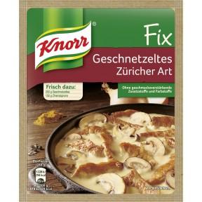 Knorr Fix für Geschnetzeltes Züricher Art 41 g