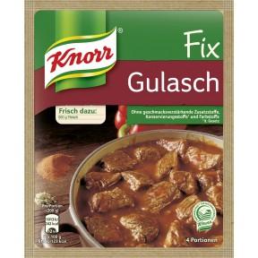 Knorr Fix für Gulasch