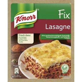 Knorr Fix für Lasagne