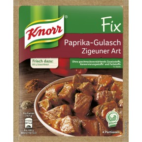 Knorr Fix für Paprika-Gulasch Zigeuner Art 52 g