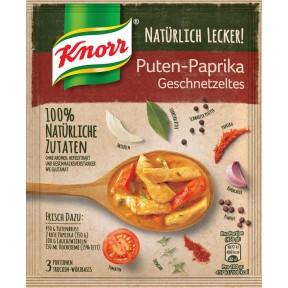 Knorr Natürlich Lecker Puten-Paprika Geschnetzeltes 58 g