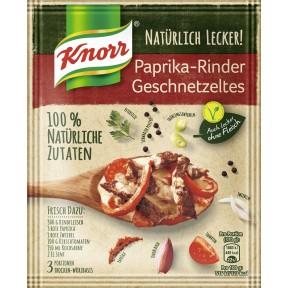 Knorr Natürlich Lecker Paprika-Rindergeschnetzeltes 31 g