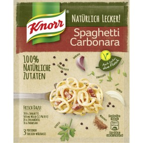 Knorr Natürlich Lecker Spaghetti Carbonara 47 g