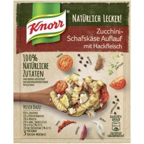 Knorr Natürlich Lecker Zucchini-Schafskäse Auflauf mit Hackfleisch 44 g