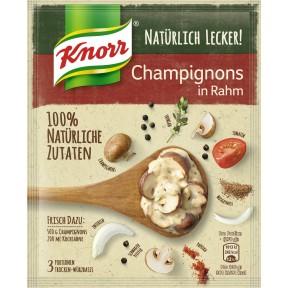 Knorr Natürlich Lecker Champignons in Rahm