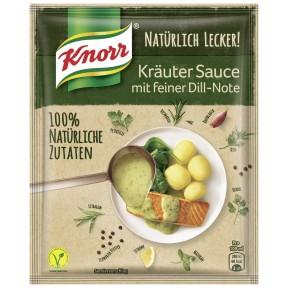 Knorr Natürlich Lecker Kräuter Sauce mit feiner Dill-Note