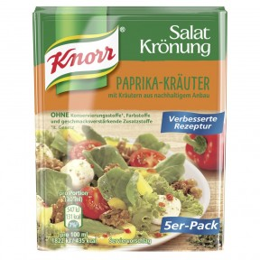 Knorr Salatkrönung Paprika-Kräuter 5x 9 g