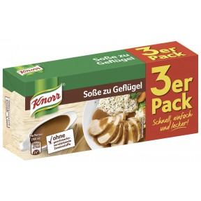 Knorr Soße zu Geflügel Dreierpackung