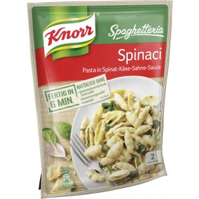Knorr Spaghetteria Spinaci 160 g
