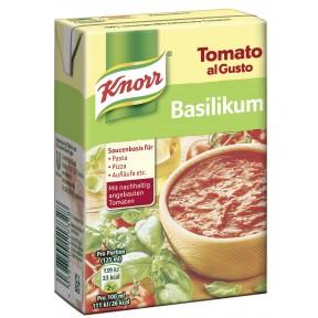Knorr Tomato al Gusto Basilikum Sauce 370 g