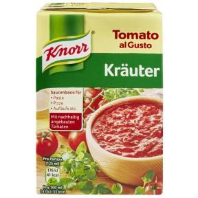 Knorr Tomato al Gusto Kräuter Sauce 370 g