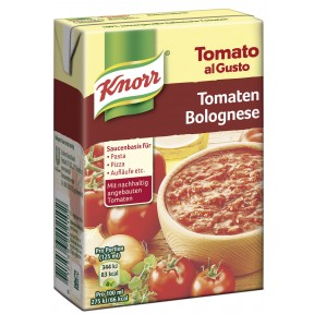 Knorr Tomato al Gusto Tomaten-Bolognese 370 g